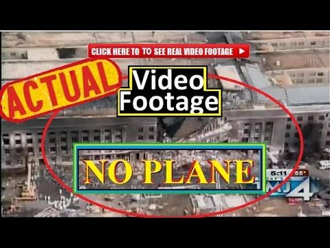 VIDEO FOOTAGE of the MISSILE - NOT a PLANE - that hit PENTAGON .. watch footage. it was a missle, lied to by Govt again.