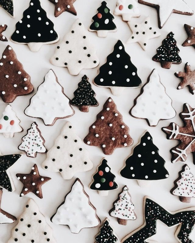 Gingerbread Advent Cookies Recipe Christmas Tree Cookies Christmas Mood Christmas Aesthetic