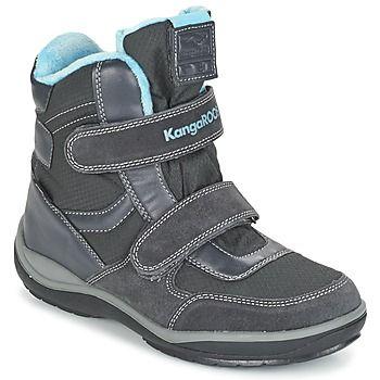 Snow+boots+Kangaroos+KANGA+SNOW+2019+Grey+/+μπλέ+48.80+€