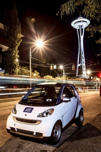 car2go Arrives in Seattle, Washington.