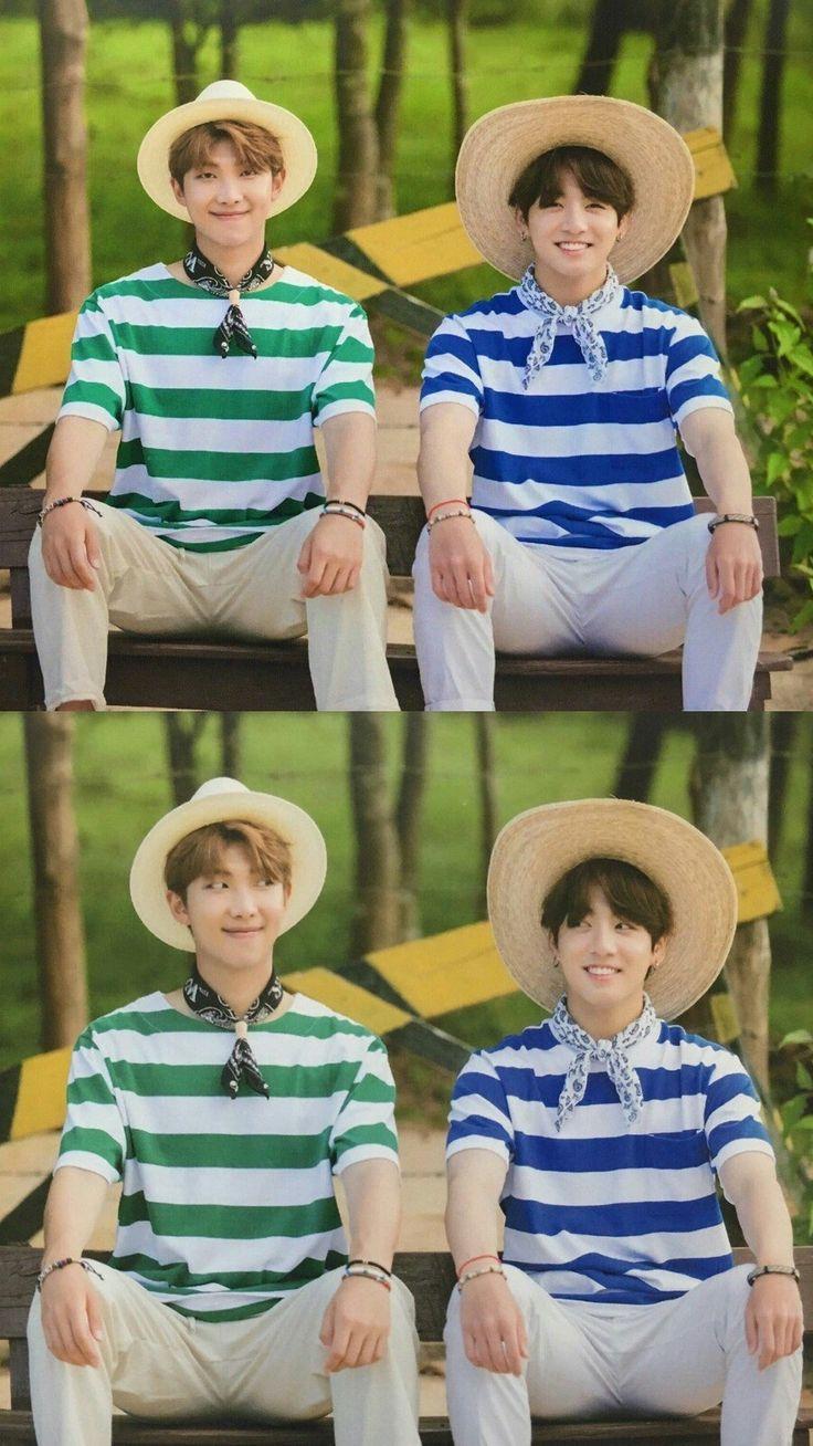 Rap Monster & Jungkook ~ BTS Summer Package 2017