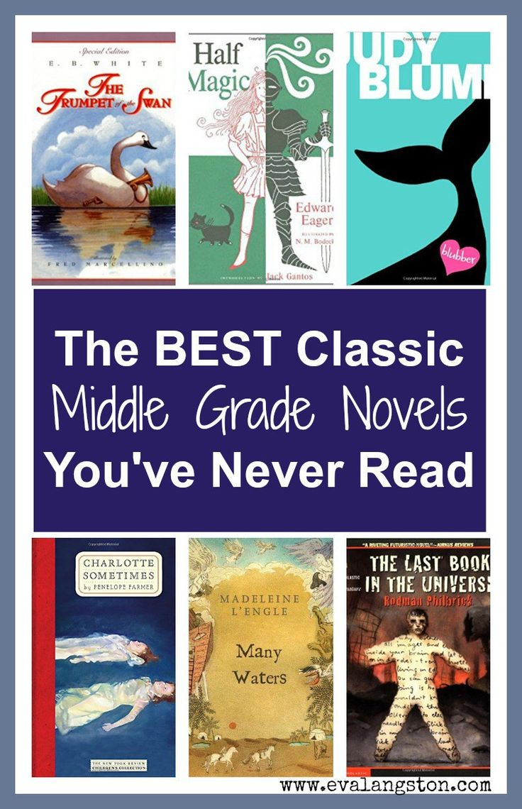 Here are some classic middle grade novels (written for ages 8 to 12) that you or your child might not have read (but I highly recommend that you do). #amreading #mustread #kidlit #middleschool #bookreview