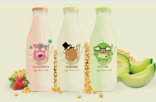 Packaging of the World: Creative Package Design Archive and Gallery: SoyMilk