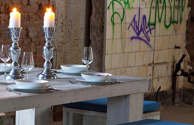 Esstisch 4+2 für den Außenbereich » WITTEKIND Terrassenmöbel