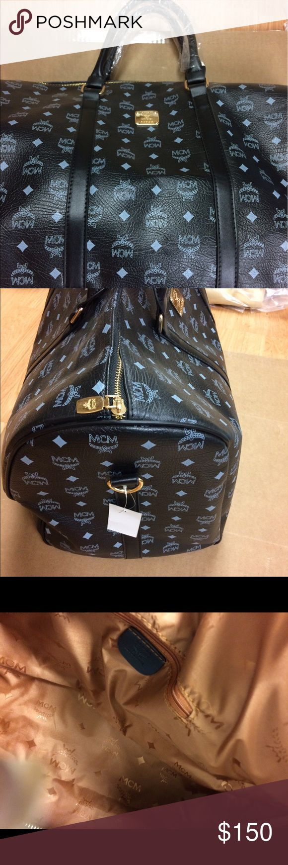 Luggage bag Designer luggage bag new with tags it is not authentic that's why the price is low MCM Bags Travel Bags