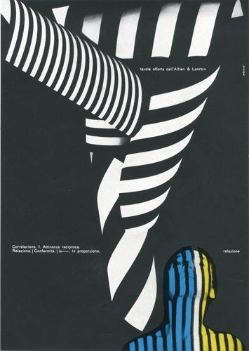 Progetto grafico e testi di Franco Grignani, (1908-1999)