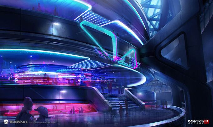 Mass Effect 3 Concept Art by Brian Sum
