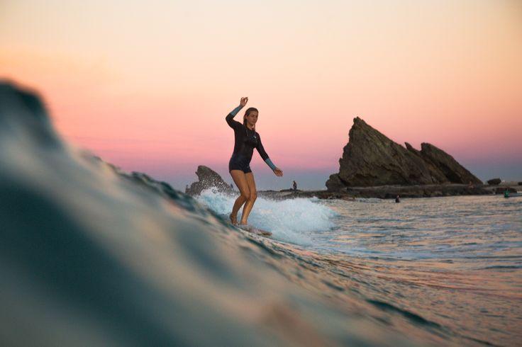 Surfing through the Gold Coast - Anna Ehrgott