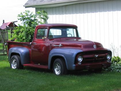 michigan classic PICKUP TRUCK shows    1956 Ford F100 For Sale Old Ford Pickup Trucks Pictures to pin on ...