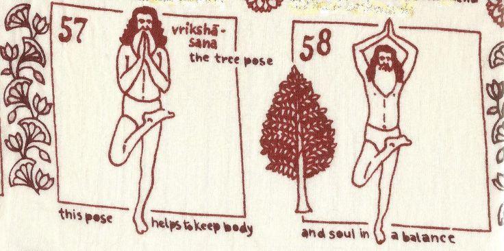 MET ingesproken tekst... doe je deze Yoga Posture 'Vrk' - asana met gemak en plezier