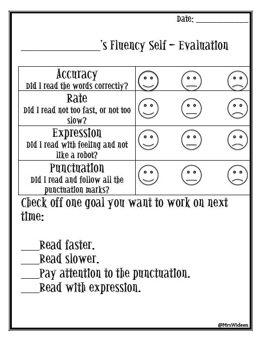 8 best Assessment images on Pinterest Student behavior, Student - self evaluations