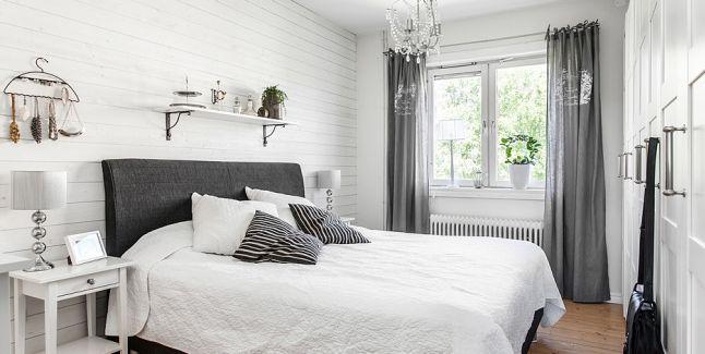 A co pwiecie na taką dośc surowo urządzoną sypialnię?