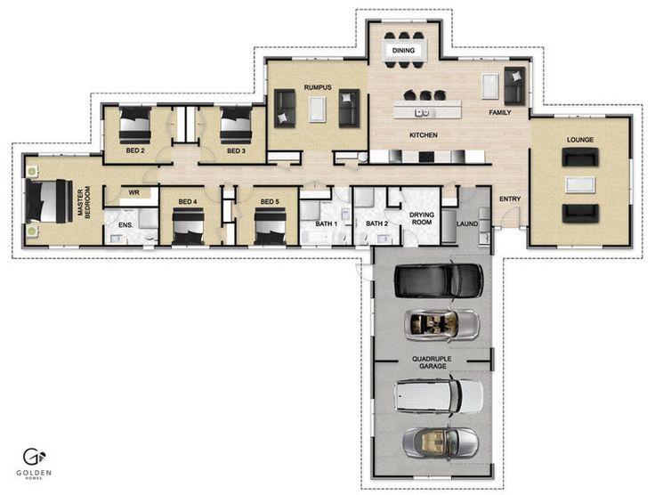 Freelander Floorplan #GoldenHomes