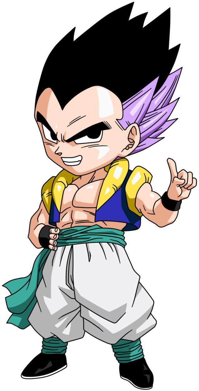 Personajes Chibi de Dragon Ball- Gotenks