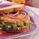 Zucchini Burger  This is a good base but it's missing something.
