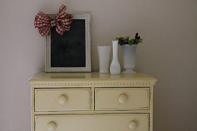 Elizabeth & Co.: Megan's Buttermilk Yellow Dresser