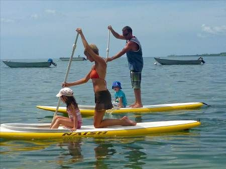 SUP with kids