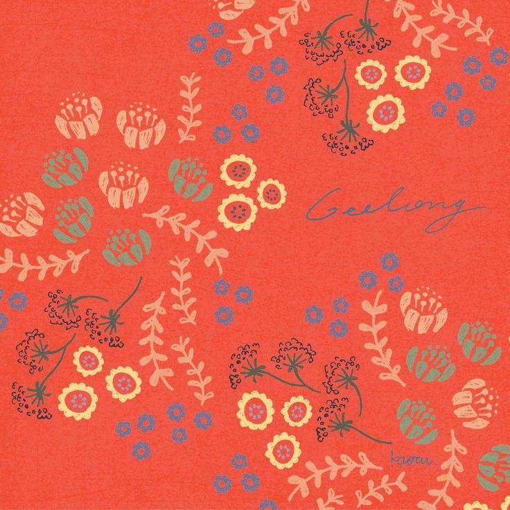 City × Pattern Vol.3 Geelong #kaorudesignstudio People have been continued to use same colour to make carpet for a long time in here. I thought the colours are very delicate and warm. ・ 街を柄で表したとしたら? 職人の方は、今でも昔ながらの製法で絨毯を作り続けているそうです。時代に褪せない、この色合わせ。変わらないものは深い強さがある。●●● #kaorudesignstudio #pensilart #Kaoru_D_store #Babynameposter #Keepsake #custombabygift #Personailsedartprint #Nurserydecorart #Babyroomdecor #Kidsroomwallart #Keepsake #命名書 ●●●