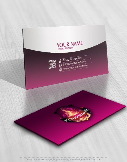 Exclusive Design Fire Music DJ Logo Compatible FREE Business Card