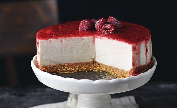 Malinowy jogurtowiec