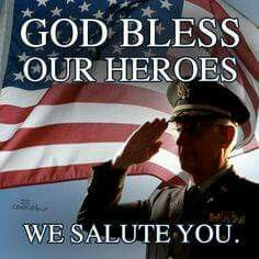 God bless our troopd