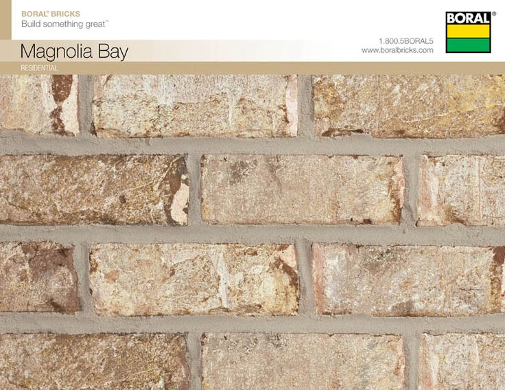 Boral Magnolia Bay Brick And Stone Selections