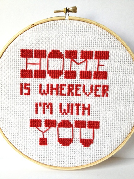 Edward Sharpe Embroidered Quote  by Gracey MayQuotes Uncovet, Quotes Wis., Embroidered Quotes