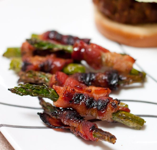 Grilled Bacon Wrapped Asparagus Recipe: So Very Blessed