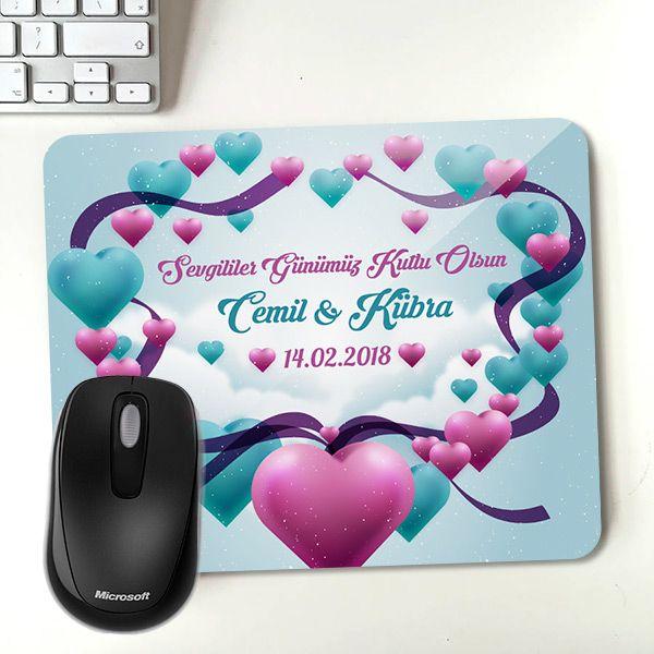 Sevgililer Gününe Özel Mousepad
