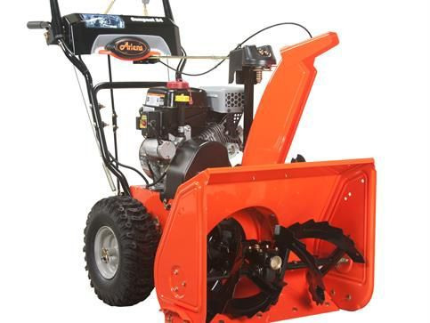 Compact 24 2-Stage Electric Start Gas Snow Blower with 24-inch Clearing Width