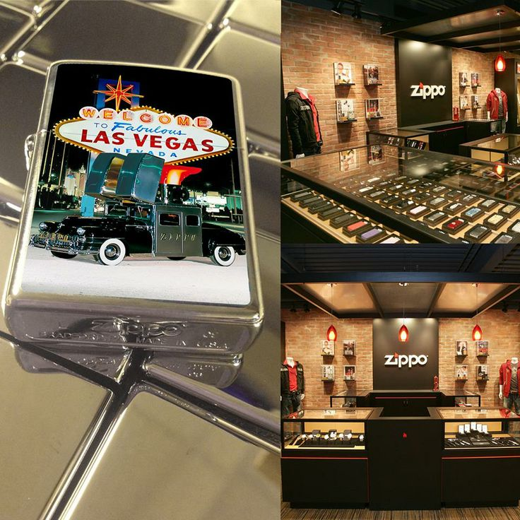 Congratulations to the Luxor Hotel and Casino in fabulous Las Vegas on the opening of the first Zippo store in the United States! What's your favorite part about #SinCity?
