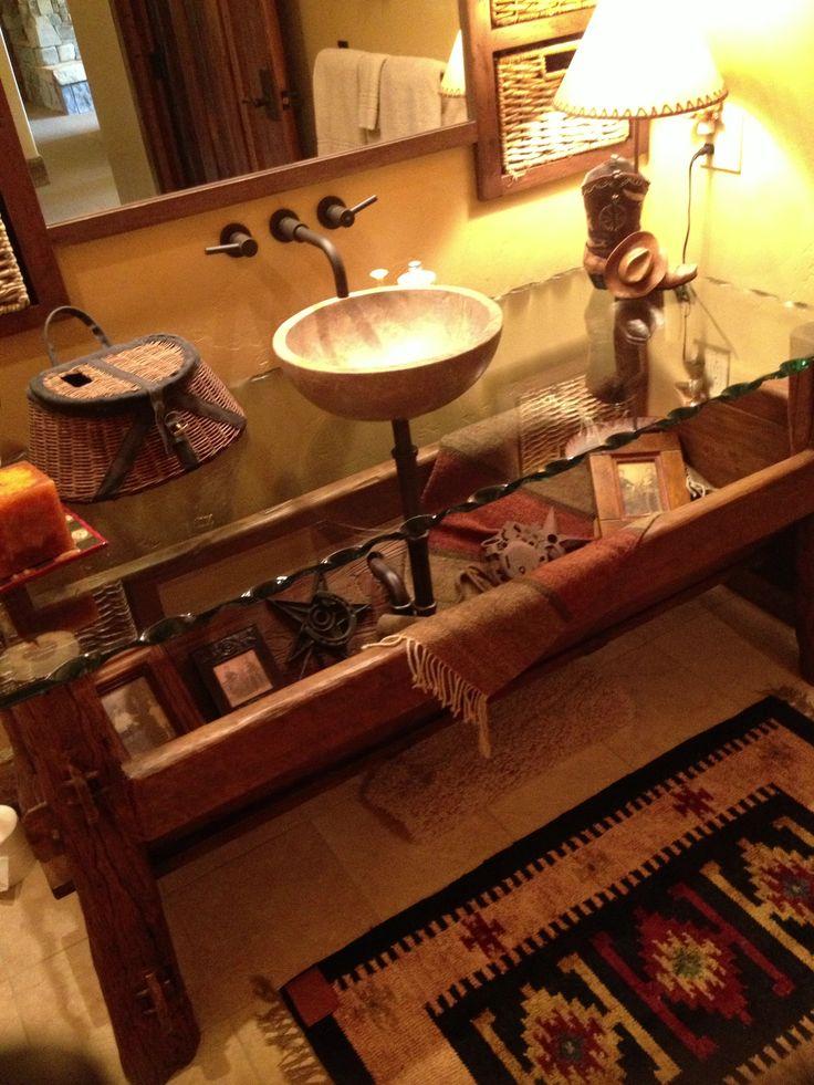Horse Trough sink Bathroom ideas Pinterest
