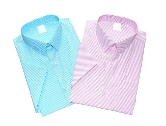 Koszula z kr.rękawem - pasek - POLSKA r 140
