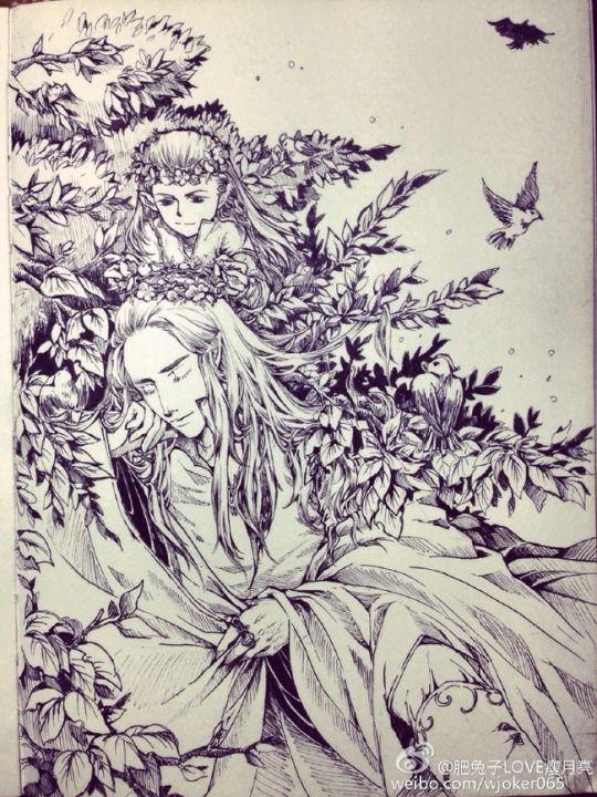 myrkvidrs | Legolas and thranduil, Tolkien elves, Elves