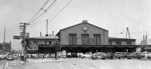 昭和36年 (1961)桜木町駅。
