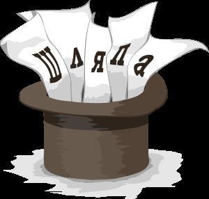 Игра шляпа прикольные слова