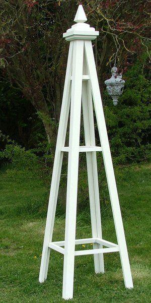 The Hodnet Wooden Garden Obelisk