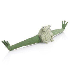 Ferguson Frog draft excluder: