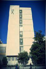 Precioso edificio del Colegio Mayor Montaigne de #Granada. Sus instalaciones son la bomba!