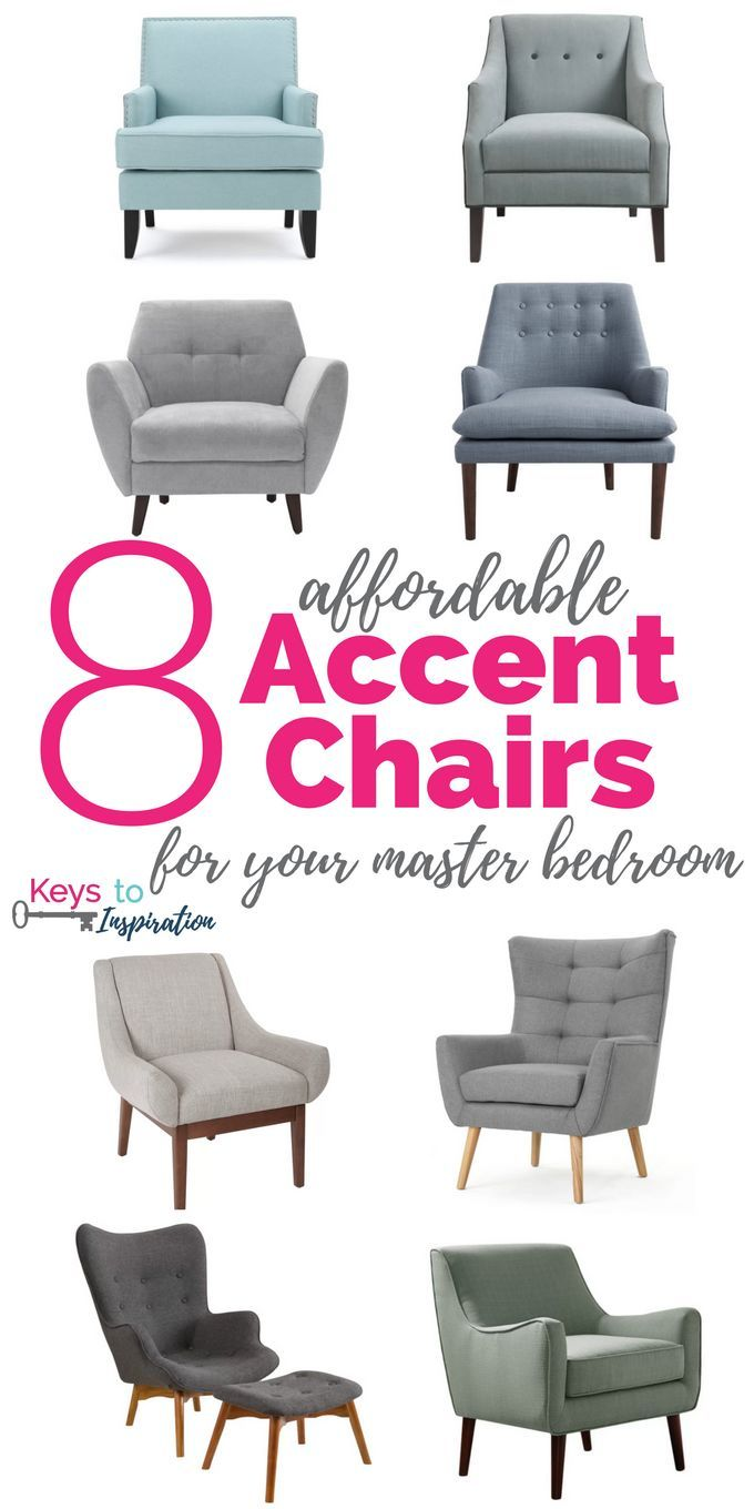 8 Affordable Accent Chairs For Your Master Bedroom Accent Chairs
