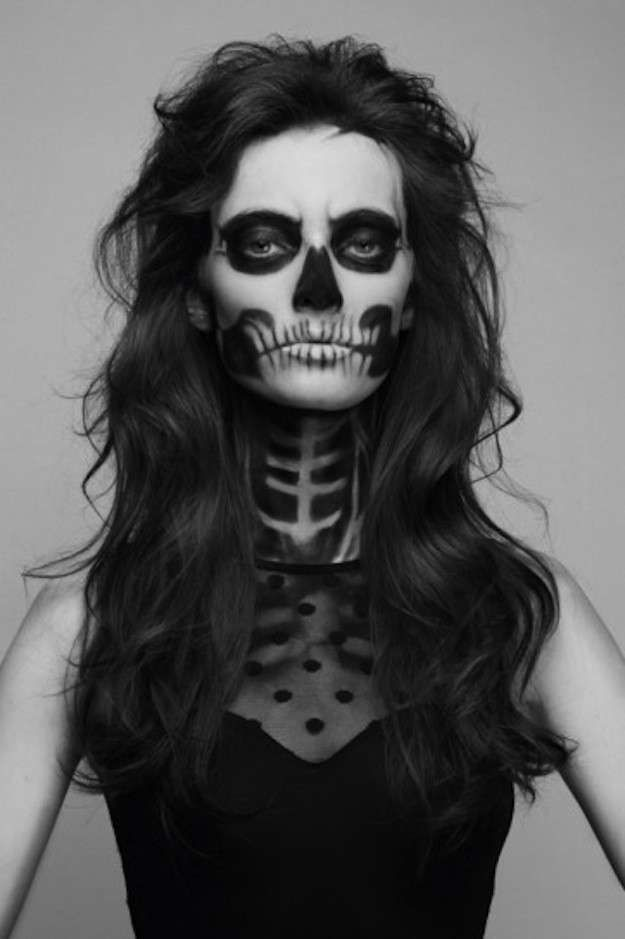 Maquillaje Halloween: fotos maquillaje calavera (Foto 5/41) | Ella Hoy