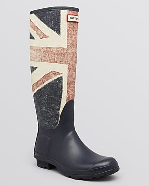 These are phenomenal. British Flag Hunter Boots? :) Swoon.