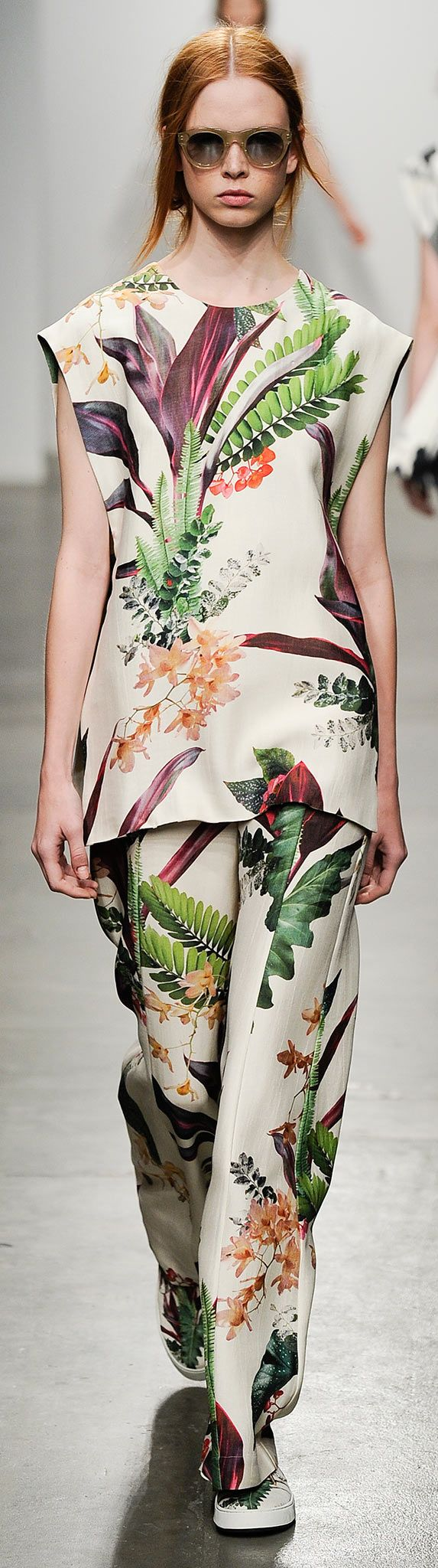 www.thefabricstore.com.au | Floral Inspiration - Osklen Spring 2015