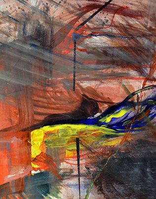 "Check out new work on my @Behance portfolio: ""Abstract Painting "" http://on.be.net/1N8szpM"