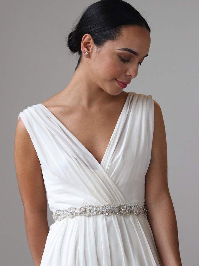 Etsy Crystal Bridal Belt | Beaded Wedding Sash | Rhinestone Sash ...