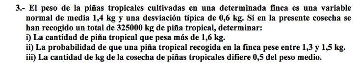 Ejercicio 3B 2000-2001 SETIEMBRE. Distribución binomial, normal. Pau de matemática para ciencias sociales, Canarias.