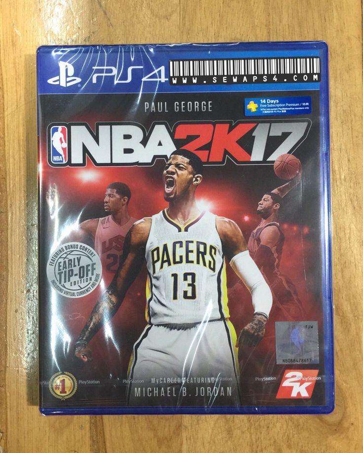 Sewaps4.com NBA 2K17 is ready 😊 sewa ps4 harian 081906060620 #rentalps4 #sewaps3 #sewaps4 #ps3harian #ps4harian