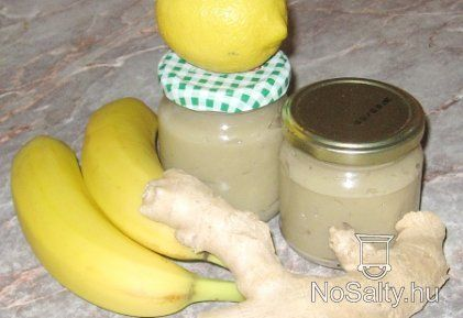 Gyömbéres banánlekvár