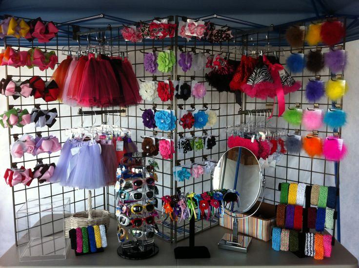 Craft Fair Wire Grid Display