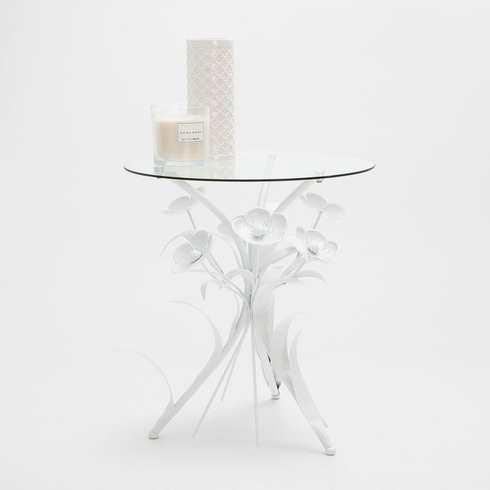 METAL FLOWER BASE TABLE - Occasional Furniture - Decoration   Zara Home United States of America